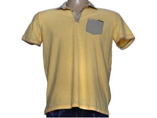 Camisa Masculina dj 0302634 Amarelo - Tamanho Médio