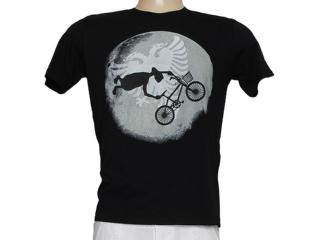 Camiseta Masculina Cavalera Clothing 01.01.7387 Preto - Tamanho Médio