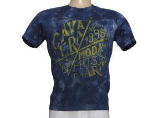 Camiseta Masculina Cavalera Clothing 01.01.7396 Marinho - Tamanho Médio