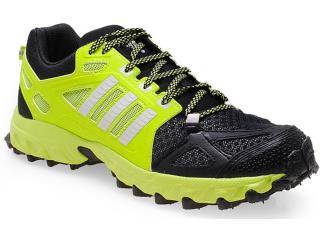 Tênis Feminino Adidas D66502 Kanadia 6 tr  Limão/preto - Tamanho Médio