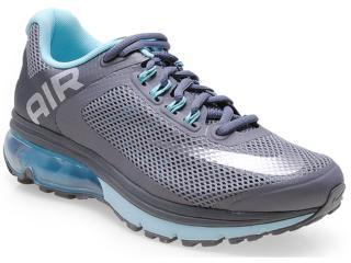 Tênis Feminino Nike 555764-015 Air Max Excellerate Chumbo/azul - Tamanho Médio
