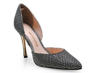 Sapato Feminino Bottero 203304 Preto/branco - Tamanho Médio