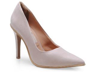 Sapato Feminino Ramarim 14-24104 Pele/ouro - Tamanho Médio