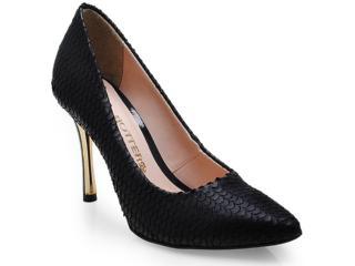 Sapato Feminino Bottero 203301 Preto - Tamanho Médio