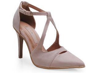 Sapato Feminino Ramarim 14-24103 Pele/ouro - Tamanho Médio