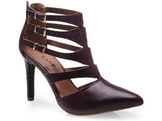 Sapato Feminino Ramarim 14-75102 Vinho - Tamanho Médio