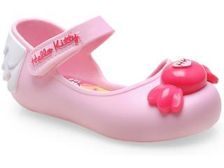 Sapatilha Feminina Grendene 21150 my Sweet Hello Kitty Rosa Claro - Tamanho Médio