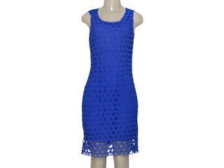 Vestido Feminino Alpelo 80402 Royal - Tamanho Médio