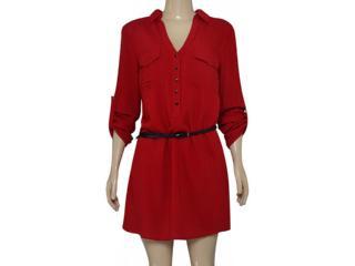 Vestido Feminino Alpelo 190 Vermelho - Tamanho Médio