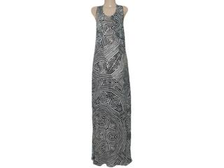 Vestido Feminino Borda Barroca 519253 Areia - Tamanho Médio