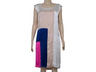Vestido Feminino Borda Barroca 519043 Color - Tamanho Médio