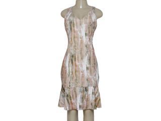 Vestido Feminino Borda Barroca 519438 Estampado - Tamanho Médio
