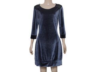 Vestido Feminino Checklist 19.10.4055 Chumbo - Tamanho Médio