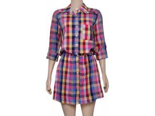 Vestido Feminino Checklist 19.10.1773 Xadrez - Tamanho Médio