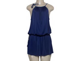 Vestido Feminino Cia Maritima 296311 Marinho - Tamanho Médio