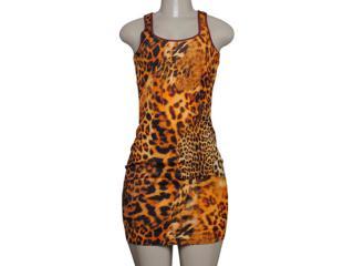 Vestido Feminino Coca-cola Clothing 443201647 Vinho/onca - Tamanho Médio