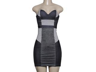 Vestido Feminino Coca-cola Clothing 443201412 Mescla Escuro - Tamanho Médio