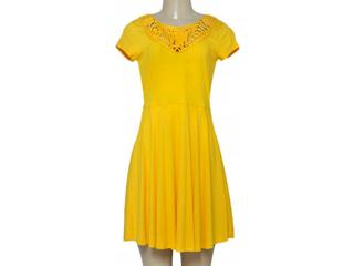 Vestido Feminino Coca-cola Clothing 443202029 Amarelo - Tamanho Médio