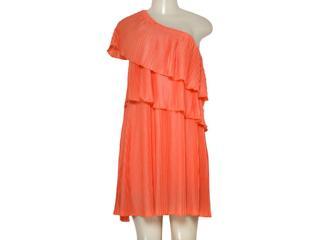 Vestido Feminino Coca-cola Clothing 443200958 Laranja - Tamanho Médio