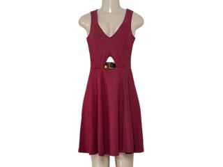 Vestido Feminino Coca-cola Clothing 443202052 Vermelho - Tamanho Médio