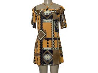 Vestido Feminino Coca-cola Clothing 443202250 Var15 Estampado - Tamanho Médio