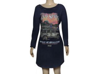 Vestido Feminino Coca-cola Clothing 445200030 Azul - Tamanho Médio