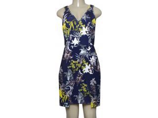 Vestido Feminino Coca-cola Clothing 443202132 Var2 Marinho Estampado - Tamanho Médio