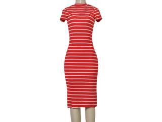 Vestido Feminino Coca-cola Clothing 443202264 Va2 Vermelho/branco - Tamanho Médio