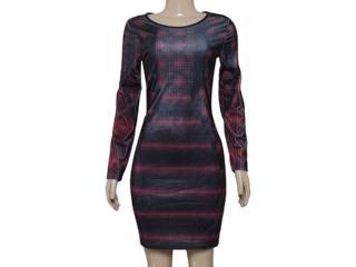 Vestido Feminino Colcci 440104810 Preto/bordo - Tamanho Médio