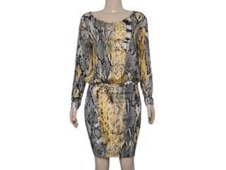 Vestido Feminino Colcci 440104984 Cobra Amarelo - Tamanho Médio