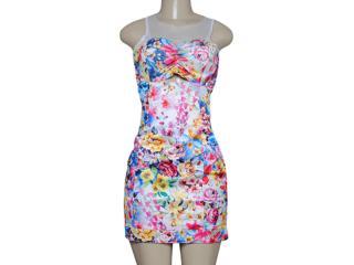 Vestido Feminino Dopping 018057521 Floral - Tamanho Médio