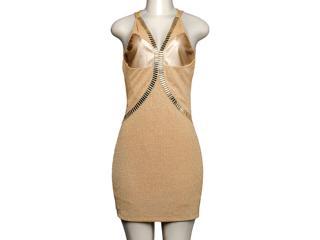 Vestido Feminino Dopping 018052521 Dourado - Tamanho Médio