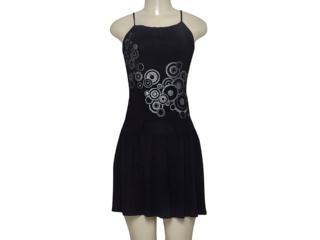 Vestido Feminino Dopping 5807105/1 Preto - Tamanho Médio