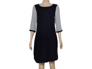 Vestido Feminino Dopping 018164021 Preto/mescla - Tamanho Médio