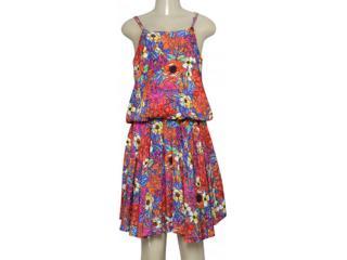 Vestido Feminino Dopping 018062535 Estampada - Tamanho Médio