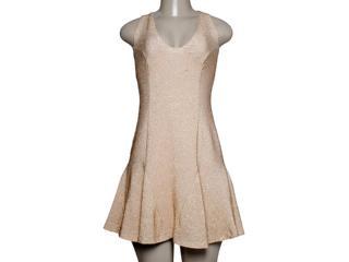 Vestido Feminino Forum 444602167 Dourado - Tamanho Médio