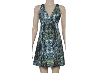 Vestido Feminino Forum 444603731 Verde Estampado - Tamanho Médio
