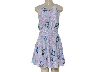 Vestido Feminino Hering H6eh3b1 Estampada - Tamanho Médio