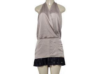 Vestido Feminino Index 13.02.000080 Dourado - Tamanho Médio