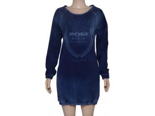 Vestido Feminino Index 13.01.000103 Jeans - Tamanho Médio