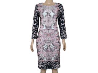 Vestido Feminino Intuição 141610 Rose - Tamanho Médio