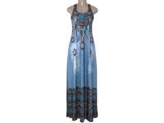 Vestido Feminino Intuição 152646 Estampado - Tamanho Médio