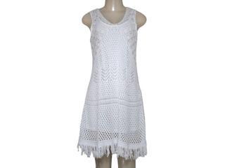 Vestido Feminino Intuição 152206 003 Off White - Tamanho Médio