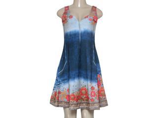 Vestido Feminino Intuição 152629 Estampado - Tamanho Médio