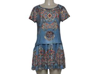 Vestido Feminino Intuição 152552 Estampado - Tamanho Médio