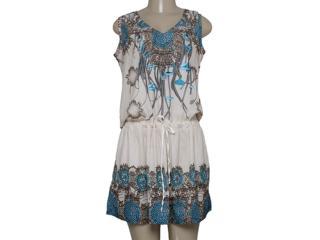 Vestido Feminino Intuição 152503 Estampado - Tamanho Médio