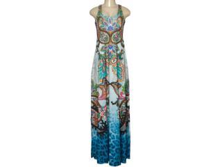 Vestido Feminino Intuição 152646 1937 Estampado Color - Tamanho Médio
