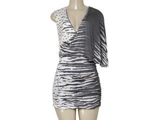 Vestido Feminino Intuição 134849 Estampado Bege - Tamanho Médio