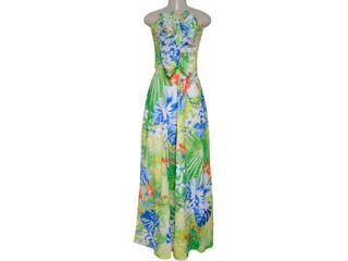 Vestido Feminino Lado Avesso 72601 Verde - Tamanho Médio