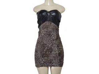Vestido Feminino Lado Avesso 78635 Marrom - Tamanho Médio